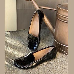 Stuart Weitzman Shoes - STUART WEITZMAN Patent Driving Moc Loafer 7.5N